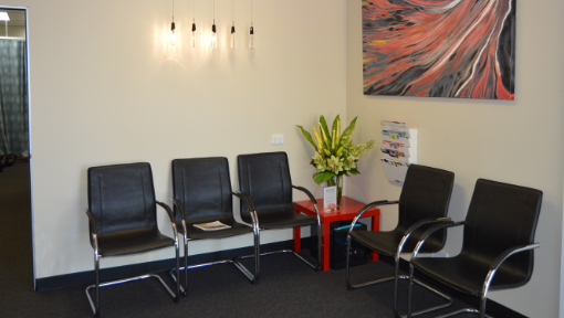 Central Bassendean Physiotherapy Sitting Area